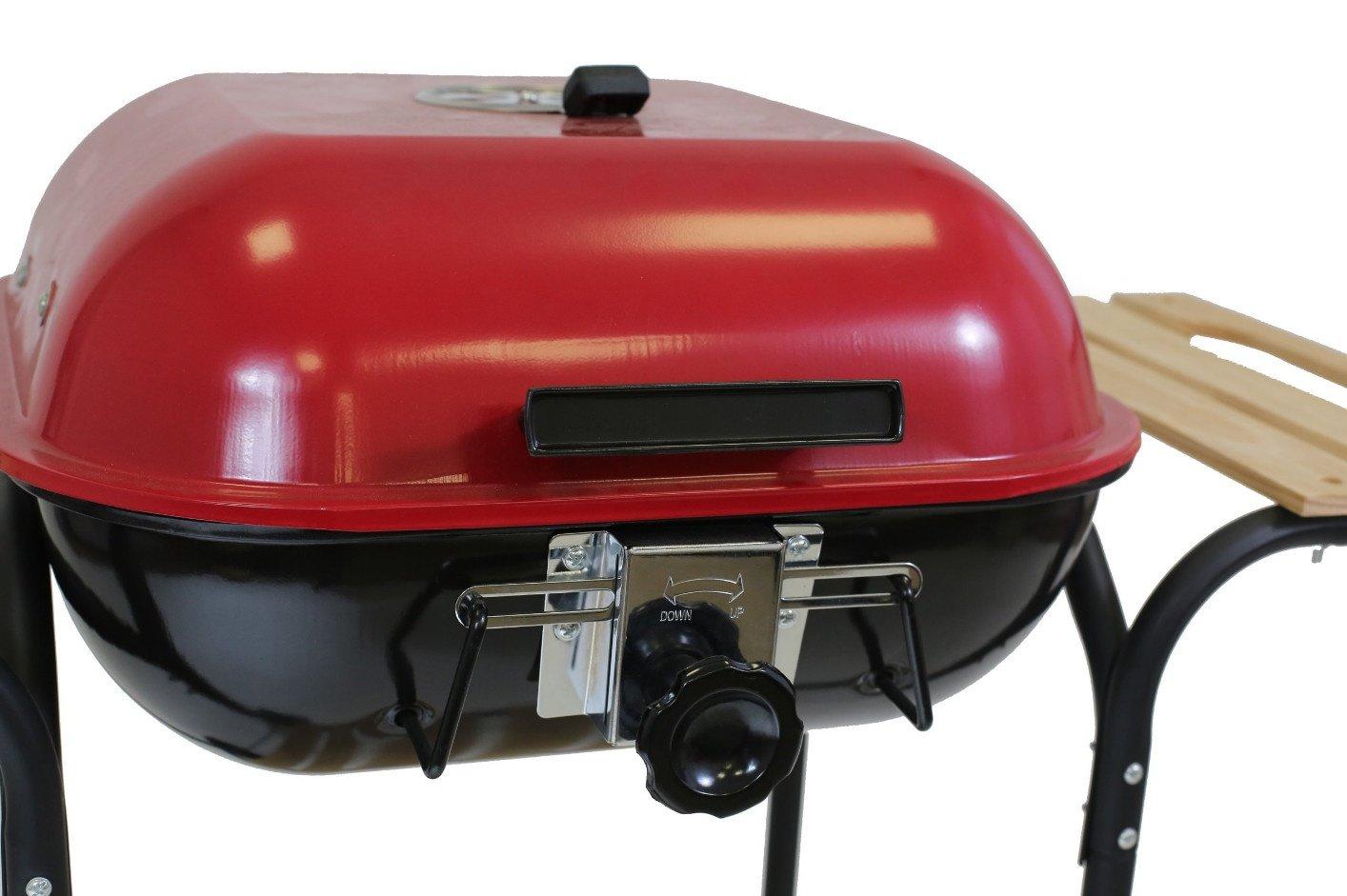 Landmann Holzkohlegrill Corso : Landmann 0518 grill holzkohlegrill grillwagen mit praktischem deckel