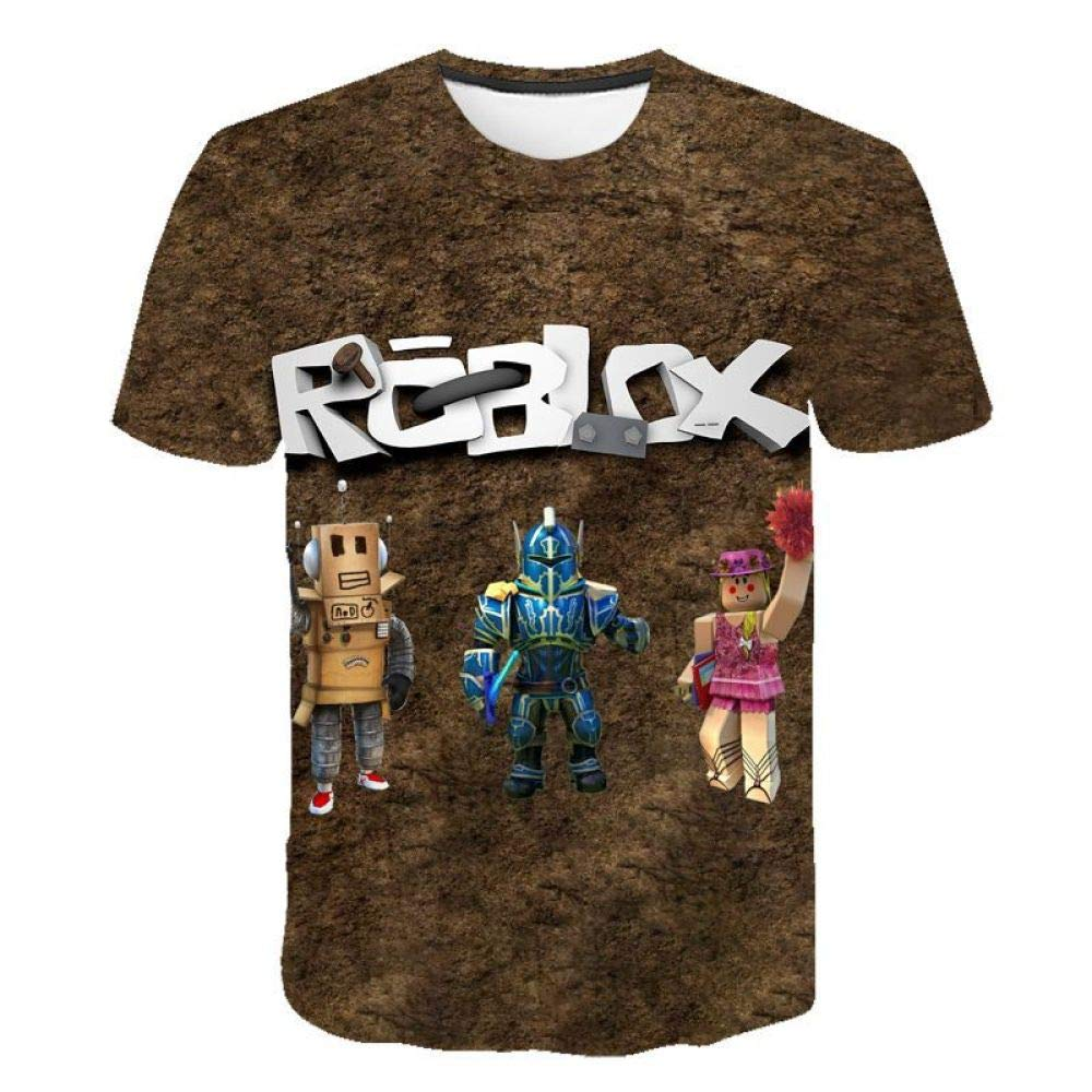 God Driver Camiseta Juego Niño Y Niña / / para Niños 3D Digital Impresión por Roblox Modelo Corto Manga Casual Parte Superior Juventud / A1 / Xxl