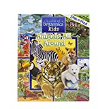 Encyclopedia Britannica Kids Animals All Around Look and Find Hardcover Book 9781503710528