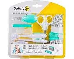 Kit Completo Cuidados do Bebê Safety 1st - Aqua White