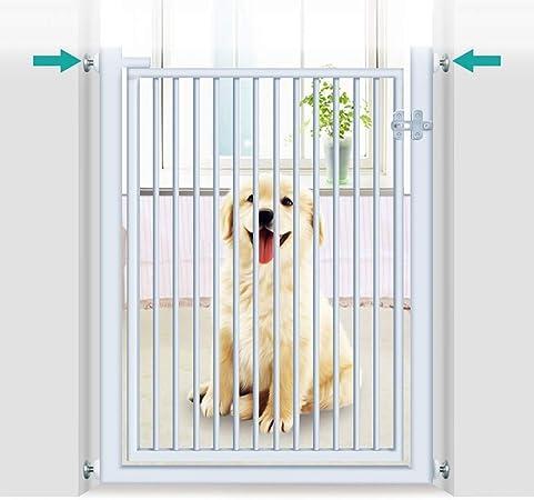 Huo Barrera de Seguridad 150cm Extra Altos Perro Puertas del Gato, Presión Montado Babymetal Escalera Puertas d Puerta Pasillo (Size : 66-70cm): Amazon.es: Hogar