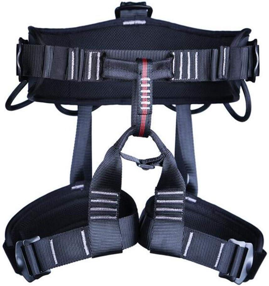 ZBHW Cinturón de seguridad ajustable para escalada de montaña ...