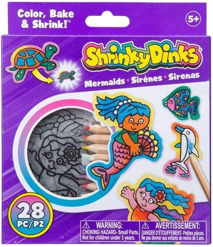 Shrinky Dinks Minis Mermaids (Plastic Art Shrink)