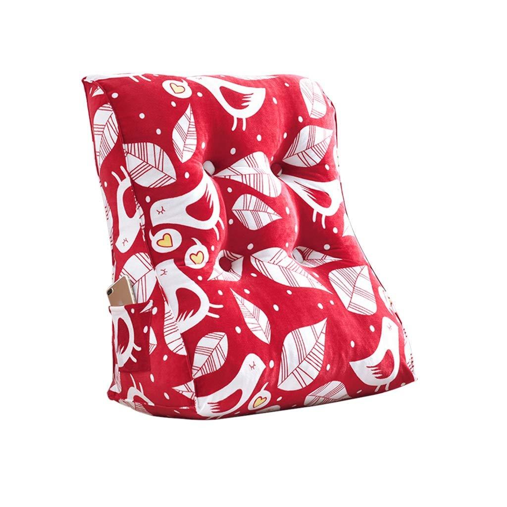 GWM GWM GWM Bettkeil, Keil für Wohnzimmer und Schlafzimmer, Schlafkeil, zur Linderung der Wirbelsäule , Stillen Pillowsfor liegen und sitzen (Farbe   K, größe   60x55x30cm) B07NYWS7C4 Kissen Qualität und Verbraucher an erster Stelle c43e35