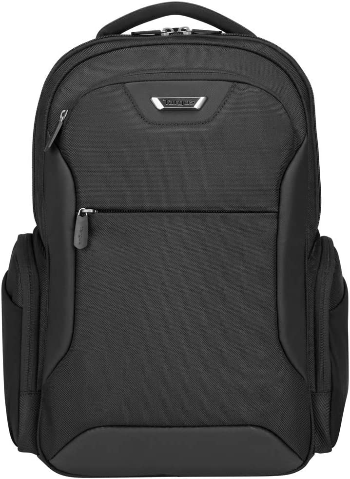 Targus Corporate Traveler Checkpoint-Friendly Professional Business Laptop Backpack with Protective Sleeve for 15.6-Inch Laptop, Black (CUCT02B)