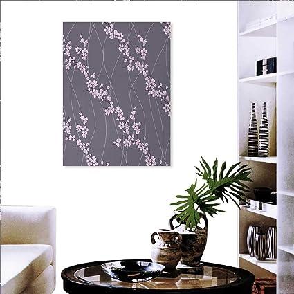 Amazon.com: Floral Modern Wall Art Living Room Decoration ...