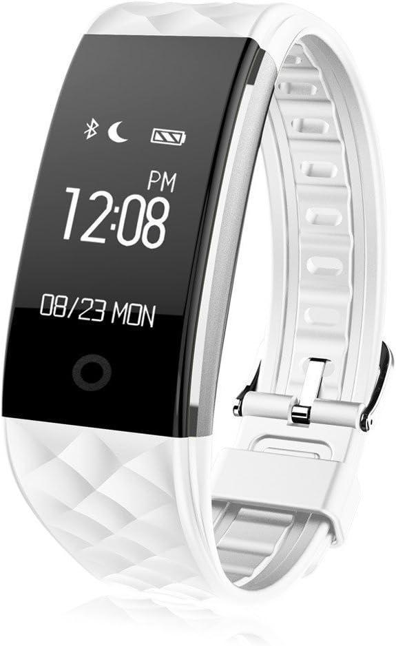 Winnes Smartwatch Pulsera, Reloj Rastreador de Actividad, Fitness Tracker, Pulsera Actividad Inteligente con Correas de Impermeabilidad IP67 Pantalla Táctil OLED