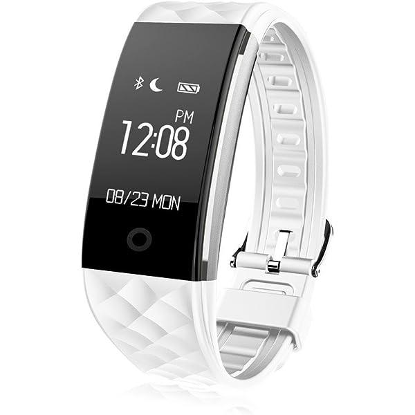 Winnes Smartwatch Pulsera, Reloj Rastreador de Actividad, Fitness ...