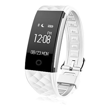Smartwatch TKSATR de Pulsera, Reloj Rastreador de Actividad, Fitness Tracker, Pulsera Actividad Inteligente, con Correas de Impermeabilidad IP67, ...