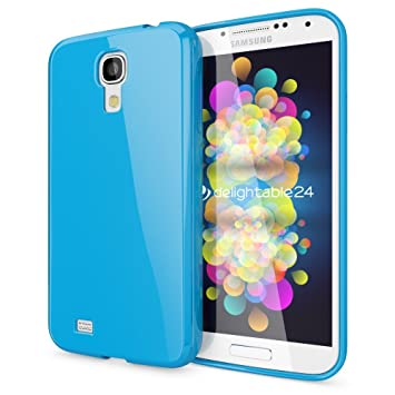 NALIA Funda Carcasa Compatible con Samsung Galaxy S4, Protectora Movil Silicona Ultra-Fina Gel Bumper, Goma Telefono Cubierta Jelly Cobertura Delgado ...