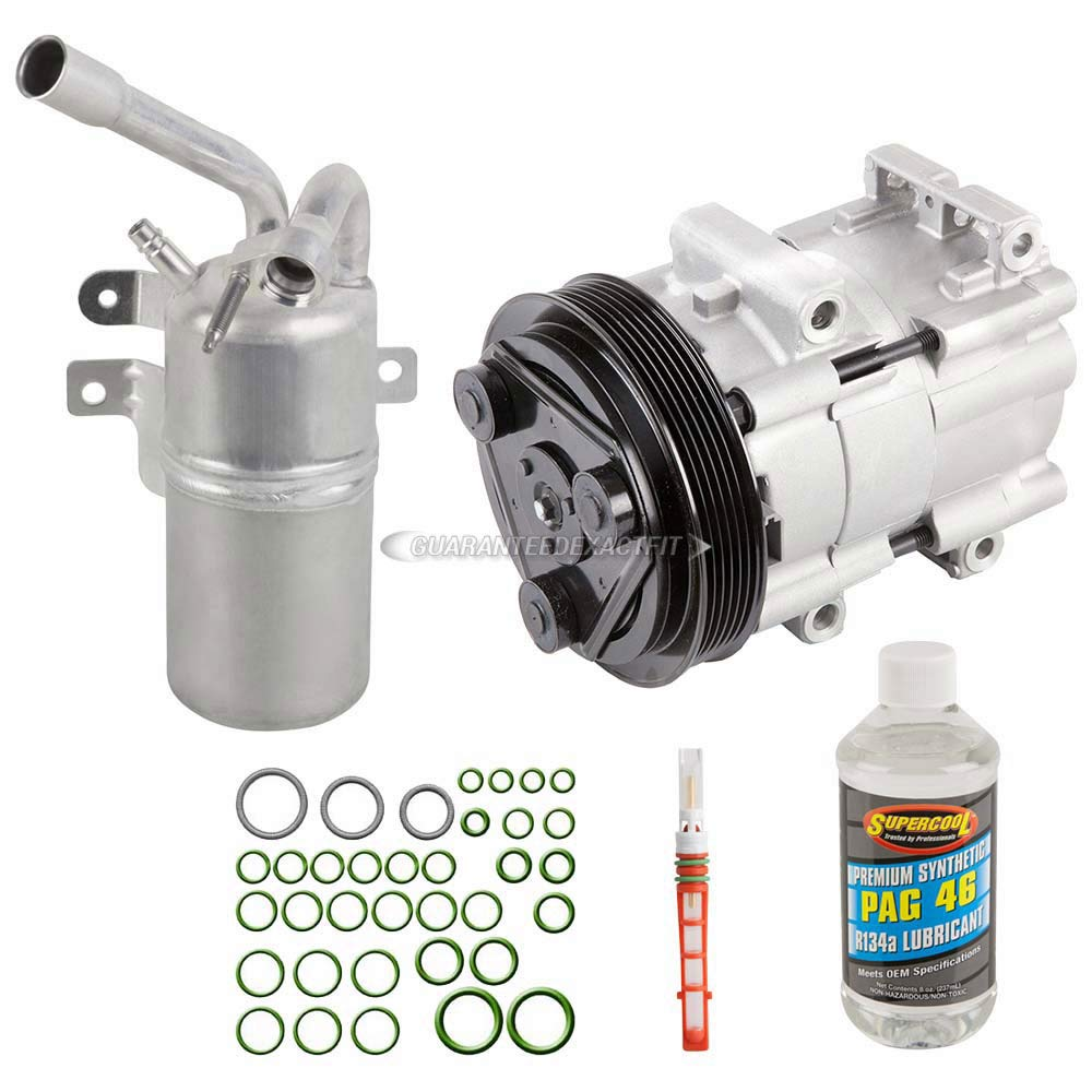 Amazon.com: AC Compressor w/A/C Repair Kit For Ford Focus 2000 2001 2002 - BuyAutoParts 60-80223RK New: Automotive