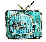 Nipitshop Patches Blue TV Screen Digital TV Logo