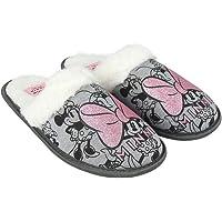 Cerdá Artesanía 2300004613 Zapatillas de estar por casa abierta Minnie Mouse