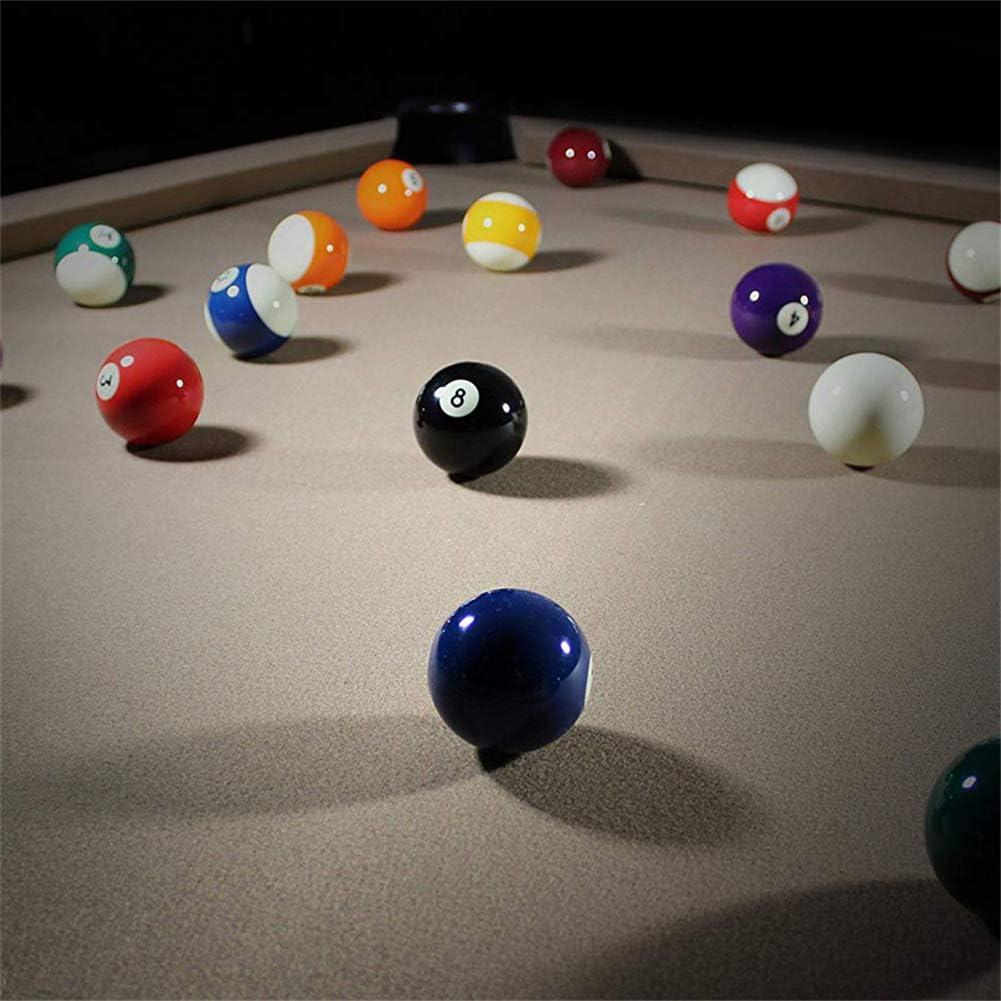Regulación de bolas de billar / billar, Premium, durabilidad, colores brillantes resistentes a la fricción, estilo de número de arte, 16 bolas completas, juego de bolas de billar profesional: Amazon.es: Hogar