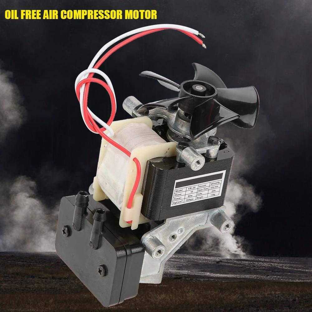 VN-40V /Ölfreier Luftkompressormotor Vakuum Eingebaute Schalld/ämpferpumpe 220V 130W Pumpe Aufblasbare 220V Vakuumpumpe Vakuumpumpe