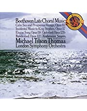 Beethoven: Late Choral Music
