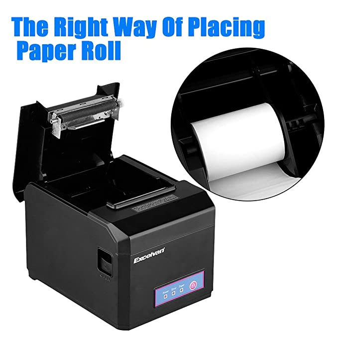 Excelvan E801 - Impresora Térmica de Recibos y Billetes (USB y ...
