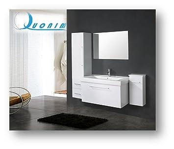 mobile bagno arredo bagno nuovo lavandino specchio miscelatore