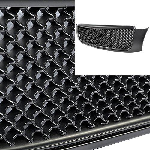 Cadillac DeVille 00-05 Black 3D Mesh Style Front Bumper Hood Grille