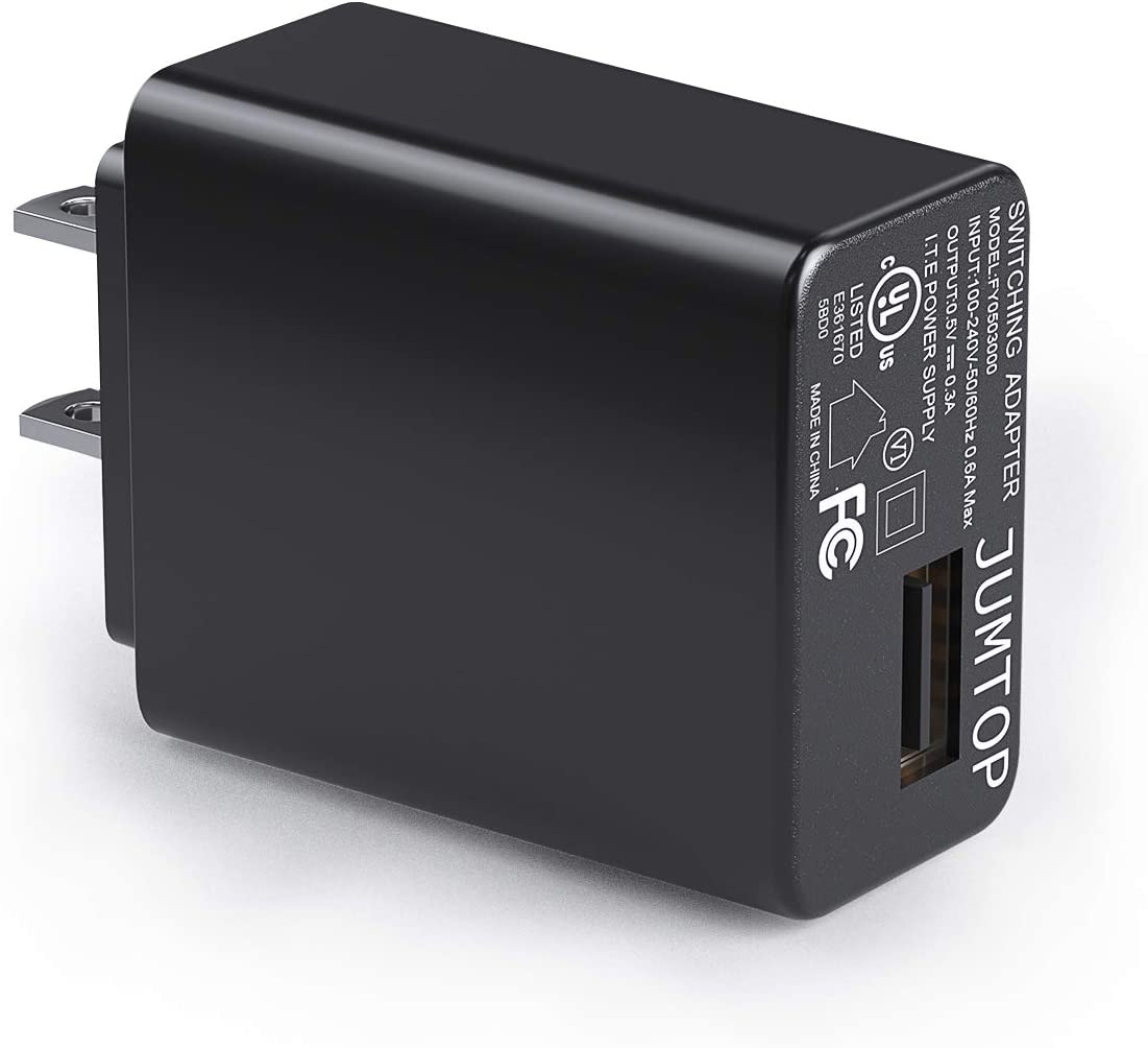JUMTOP Quick Charger 3.0, 15W USB Wall Charger 5V 3A Output, Portable USB Plug for iPhone Xs/XS Max/XR/X/8/8 Plus/7/6S/6S Plus, iPad, USB Fast Charger for Samsung Galaxy Note 5/ Note 4, HTC, Moto