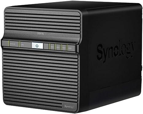 Synology DS418J NAS Escritorio Ethernet Negro Servidor de ...