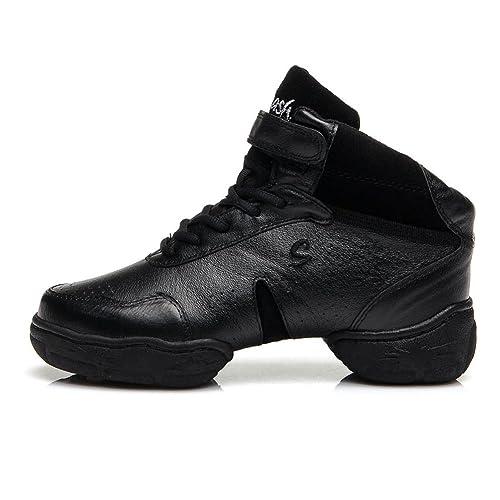 HROYL Mujer Zapatos de Jazz Zapatos de Baile Moderno Zapatos Deportivos Zapatillas de Baile Dance Sneakers B52: Amazon.es: Zapatos y complementos
