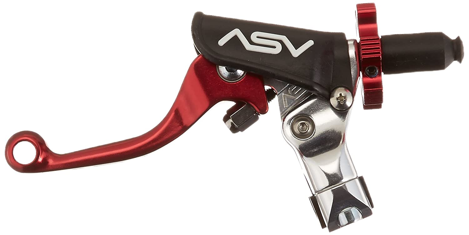 ASV Inventions CMF33-SR F3 Red Universal Pro Perch Shorty Clutch Lever