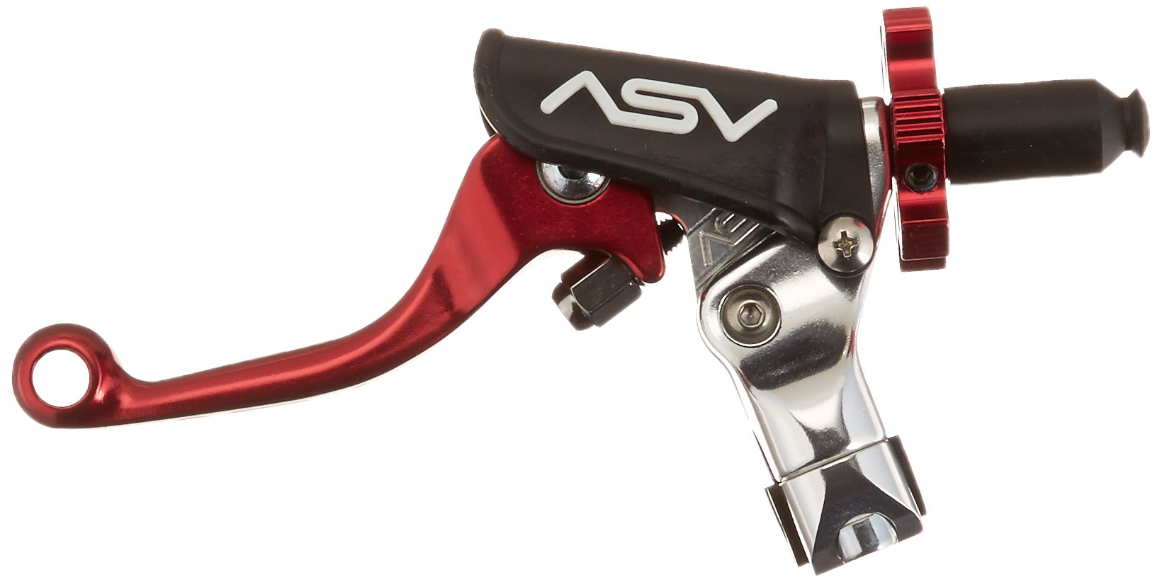ASV Inventions CMF33-SR F3 Red Universal Pro Perch Shorty Clutch Lever by ASV Inventions (Image #2)
