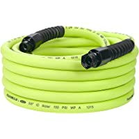 Flexzilla Pro Water Hose with Reusable Fittings, 5/8 in. x 50 ft., Heavy Duty, Lightweight, Drinking Water Safe…