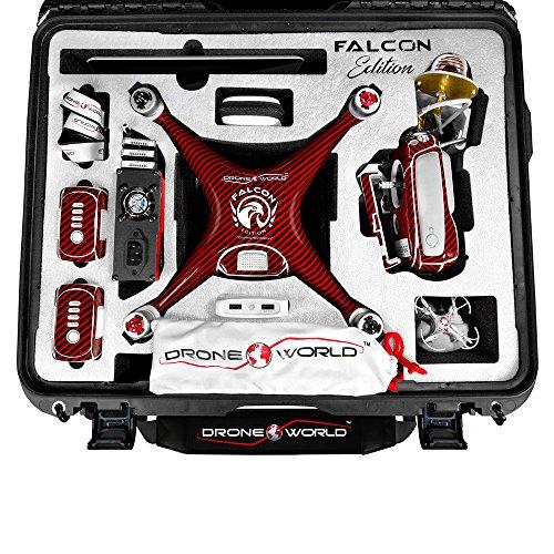 DJI-Phantom-4-Advanced-Falcon-Edition-Kit-wFirebridge-Long-Range-System-Nanuk-950-Wheeled-Case-3-Batteries-Thor-Charger-Carbon-Fiber-Props-Guards-Phantom4-Pro-Lens-Filters-64GB-Card