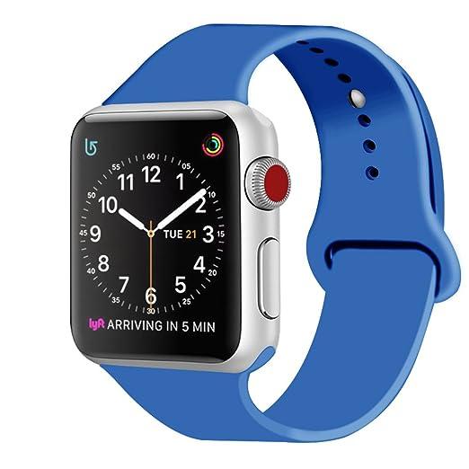 247 opinioni per ZRO Cinturino for Apple Watch, Morbido Silicone Braccialetto Sportiva di