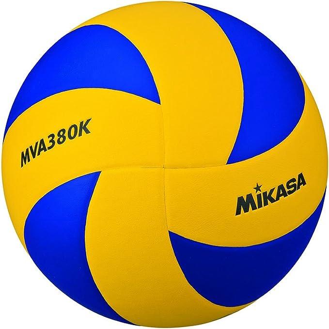 MIKASA MVA-380K Balón, Unisex Adulto, Azul/Amarillo, 5: Amazon.es ...