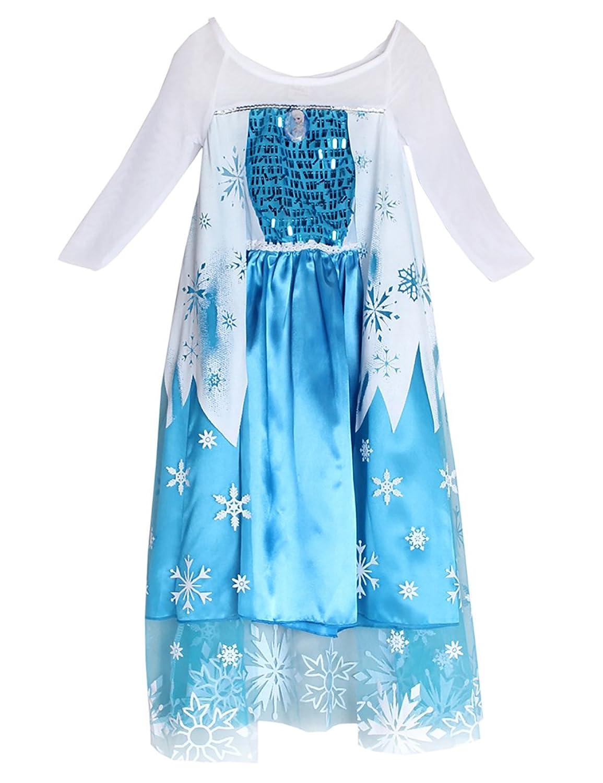 ninimour dguisement reine des neiges costume robe princesse petite fille