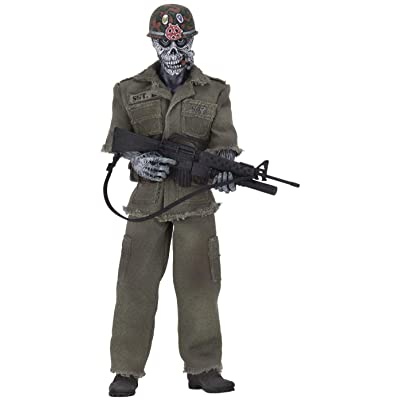 NECA Stormtroopers of Death Speak English or Die SGT. D Clothed Action Figure: Toys & Games