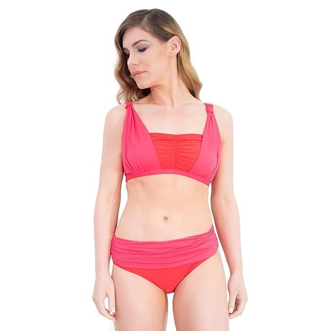 Clover – Lewis Mastitis/Bikini de dos piezas Bañador para Post Mastitis y Post cirugía