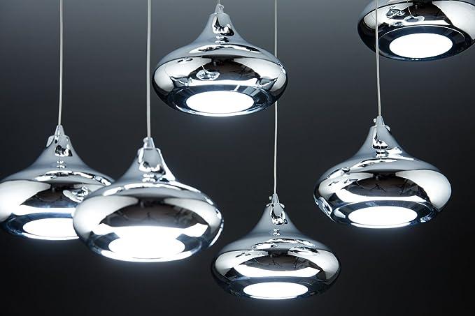 Drop lampadario a sospensione led di design moderno amazon