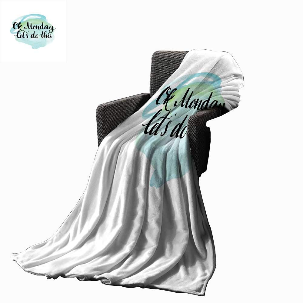 Amazon.com: Luckyee Motivational Digital Printing Blanket OK ...