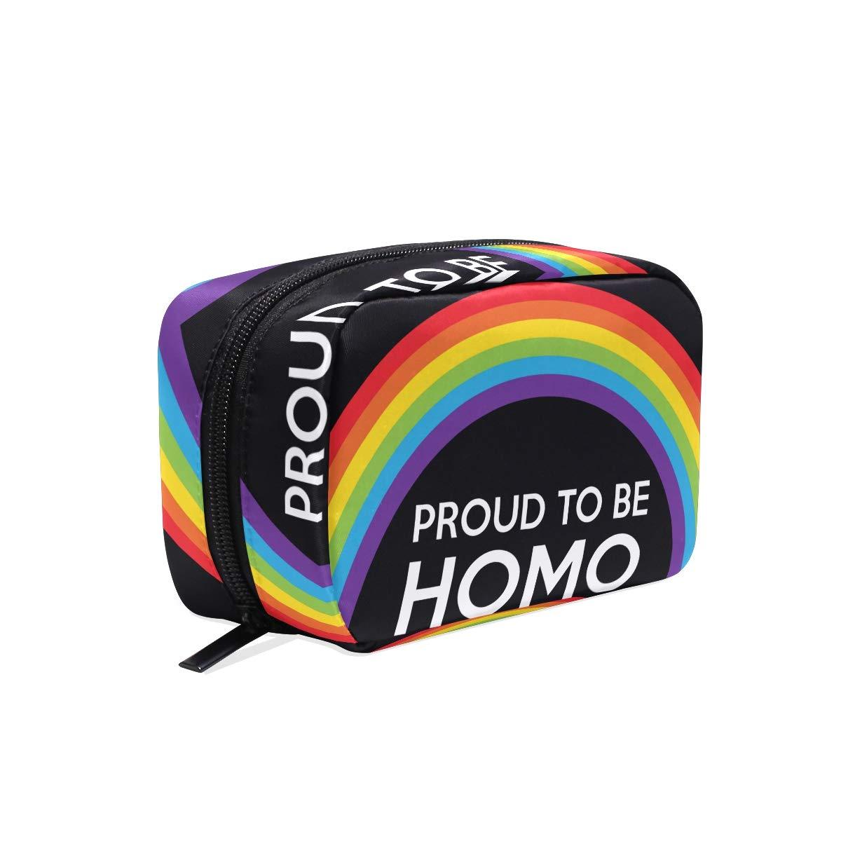 Makeup Organizer Best Gay Pride Womens Zip Toiletry Bag Large Case Cosmetic Bags