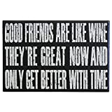 Best unknown Friends Gifts Signs - JennyGems Friendship Gift Collection Wood Sign Good Friends Review