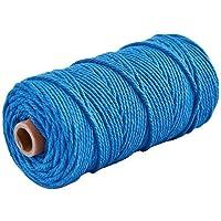 CAOLATOR. Cordón de algodón Macrame 100mx3mm Cuerda