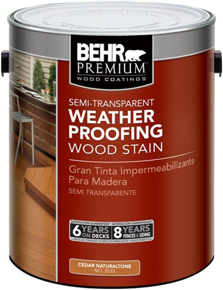 BEHR Premium 1 Gal. #ST-533 Waterproofing Stain and Sealer