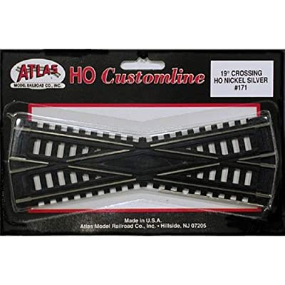 Atlas HO Scale Code 100 Custom-Line 19 Degree Crossing: Toys & Games