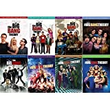 The Big Bang Theory : Complete Seasons 1 - 8 Collection