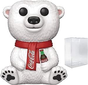 Pop Ad Icons: Coca-Cola - Polar Bear Pop! Vinyl Figure (Includes Compatible Pop Box Protector Case)