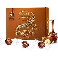 Lindt瑞士莲软心榛仁牛奶巧克力礼盒168g (瑞士进口)