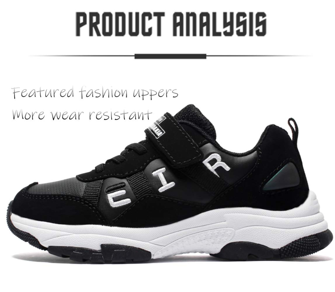 Nylon Outdoor Sports Shoes//Childrens Lightweight Running Shoes//Unisex Non-Slip Sneakers Size 28-37