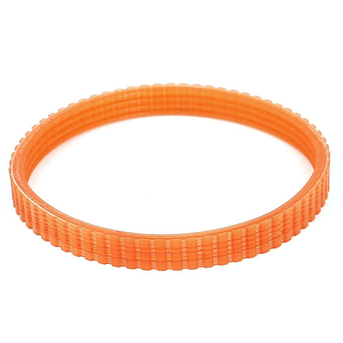 PU-Leder Sourcingmap/® Antriebsriemen f/ür Makita 1911B 268 mm Gurt Orange