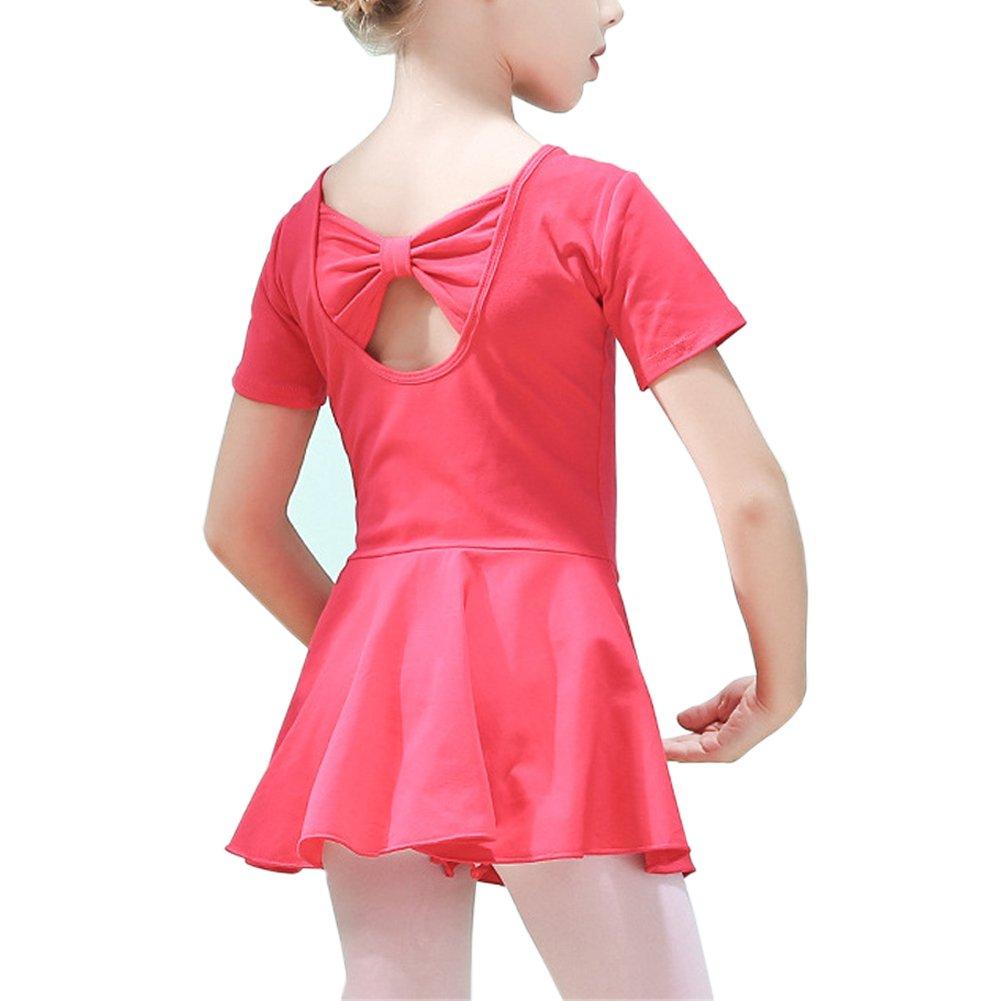 Lisianthus Girls Cotton Gymnastics Leotard Ballet Dress