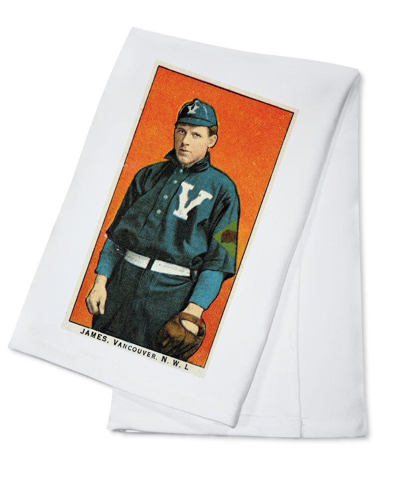 バンクーバーNorthwestern League – James – 野球カード Cotton Towel LANT-23639-TL Cotton Towel  B0184BBJSI