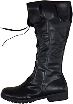 Tabitha Womens Low Heel Under Knee High Calf Riding Boots Style Ladies Shoes New